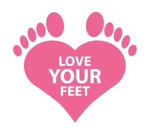 Love Your Feet logo